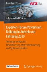 Experten-Forum Powertrain: Reibung in Antrieb und Fahrzeug 2019