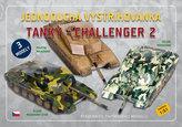 Jednoduchá vystřihovánka Tanky -  Challenger 2