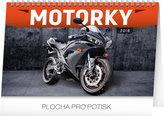 Kalendář stolní 2018 - Motorky, 23,1 x 14,5 cm