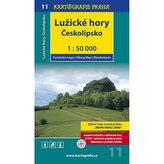 Lužické hory,Českolipsko 1:50 000