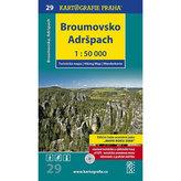 1: 50T (29)-Broumovsko, Adršpach (turistická mapa)