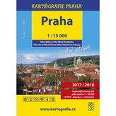 PRAHA velký atlas města 1:15 000
