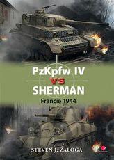 PzKpfw IV vs Sherman - Francie 1944