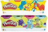 Play Doh 4-Pack Tub, różne rodzaje