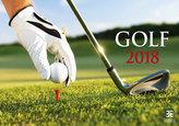 Kalendář nástěnný 2018 - Golf/Exclusive