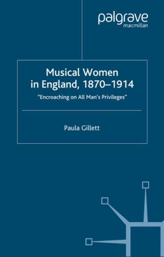 Musical Women in England, 1870-1914