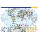 Svět - školní nástěnná politická mapa 1:26 mil./136x96 cm
