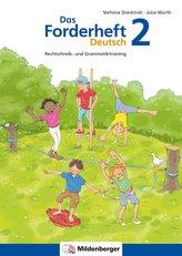 Das Forderheft Deutsch 2