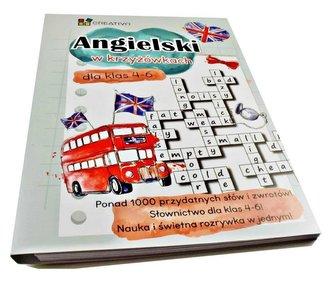 Angielski w krzyżówkach dla klas 4-6 CREATIVO