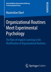 Organizational Routines Meet Experimental Psychology