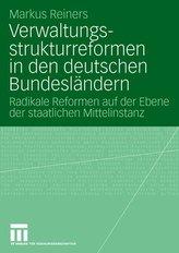 Verwaltungsstrukturreformen in den deutschen Bundesländern