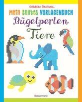 Mein buntes Vorlagenbuch: Bügelperlen-Tiere. Über 150 Motive. Von Alpaka bis Zebra