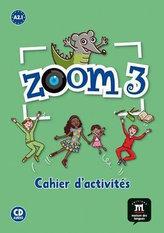 Zoom 3 (A2.1) – Cahier d´activités FLE + CD