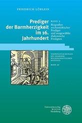 Biografien reichsstädtischer Prediger und ausgewählte diakonische Predigten 2