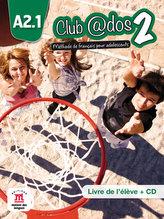 Club @dos 2 (A2.1) – Livre de l´éleve + CD