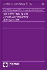 Familienförderung und Gender Mainstreaming im Steuerrecht