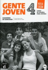 Gente Joven 4 Nueva (B1.2-B2.1) – Cuad. de ejer. + CD