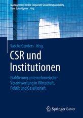 CSR und Institutionen