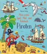 Mein erstes Spiel-, Mal- und Ratebuch: Piraten