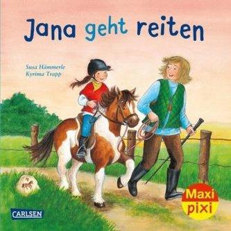 Jana geht reiten