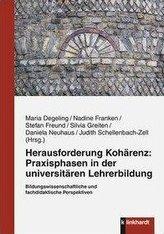 Herausforderung Kohärenz: Praxisphasen in der universitären Lehrerbildung.
