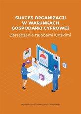 Sukces organizacji w warunkach gospodarki cyfrowej