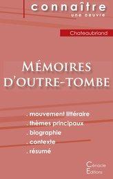 Fiche de lecture Mémoires d\'outre-tombe de Chateaubriand (Analyse littéraire de référence et résumé complet)