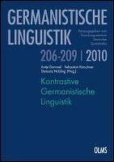 Kontrastive Germanistische Linguistik. 2 Bände