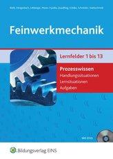 Feinwerkmechanik Prozesswissen. Aufgabenband. Mit DVD