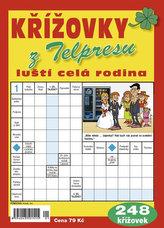 Křížovky z Telpresu luští celá rodina - 248 křížovek 1/2017