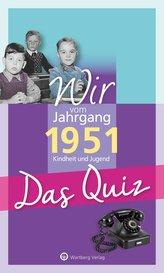 Wir vom Jahrgang 1951 - Das Quiz