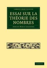 Essai Sur La Theorie Des Nombres