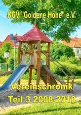 Vereinschronik Teil 3 2008 - 2018