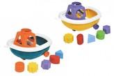 Loď/Člun na kolečkách + vkládačka plast 1ks