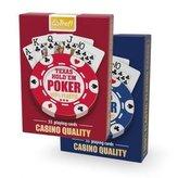 Karty - Plastik Poker TREFL