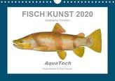 Fisch als Kunst 2020: Asiatische Forellen (Wandkalender 2020 DIN A4 quer)