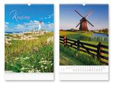 Krajiny 2018 - nástěnný kalendář
