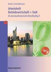 Betriebswirtschaft und Steuerung und Kontrolle. Arbeitsheft. Baden-Württemberg