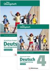 Anschluss finden / Deutsch 4 - Das Übungsheft - Grundlagentraining: Leseheft und Arbeitsheft