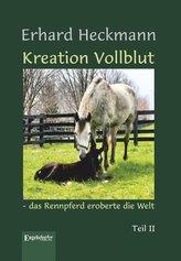 Kreation Vollblut - das Rennpferd eroberte die Welt