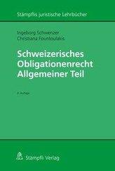 Schweizerisches Obligationenrecht.  Allgemeiner Teil