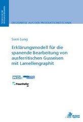 Erklärungsmodell für die spanende Bearbeitung von ausferritischen Gusseisen mit Lamellengraphit