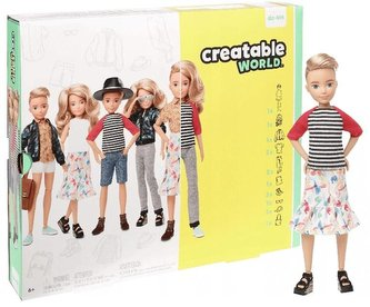 Barbie Zestaw Creatable world GGT67