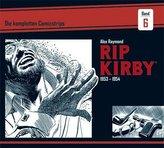 Rip Kirby: Die kompletten Comicstrips / Band 6 1953 - 1954