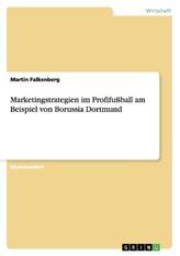 Marketingstrategien im Profifußball am Beispiel von Borussia Dortmund