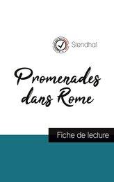Promenades dans Rome de Stendhal (fiche de lecture et analyse complète de l\'oeuvre)