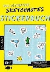 Let\'s sketch! Das ultimative Sketchnotes-Stickerbuch - Über 600 Sticker: Symbole und Icons zum Organisieren und Planen von Beruf