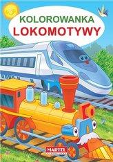 Kolorowanka lokomotywy