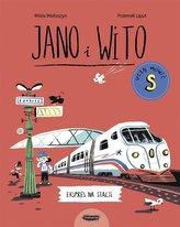Jano i Wito uczą mówić S. Ekspres na stacji