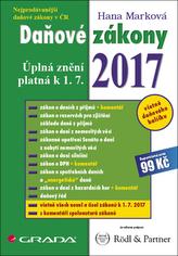 Daňové zákony 2017 - Úplná znění platná k 1. 7. 2017